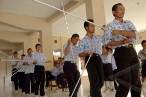 Pendidikan Luar Biasa  Implementasi Kurikulum Khusus Autis Di SLB Autis Alamanda Surakarta tuna grahita